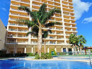 Apartment with pool and sea views -AMBAR BEACH 18B, Calpe