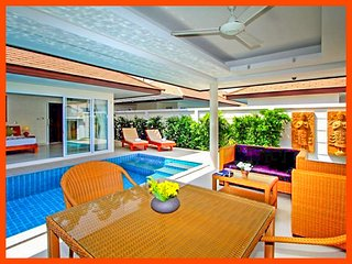 Villa 86 - Perfect for couples very private with pool, Plai Laem