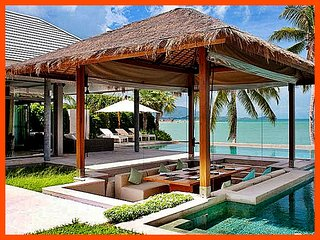 Villa 192 - Beach front luxury with continental breakfast included