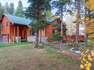 Casa de Montagne Log Home Frisco Colorado House Rental