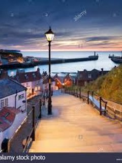 Whitby, view from 199 steps