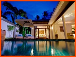 Villa 88 - Tropical outdoor living with private pool sleeps 4, Plai Laem