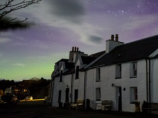 The Northern Lights above Henderson House