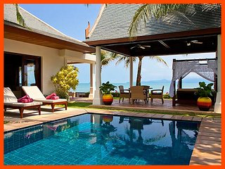 Villa 82 - Beach front luxury with Thai chef service, Mae Nam