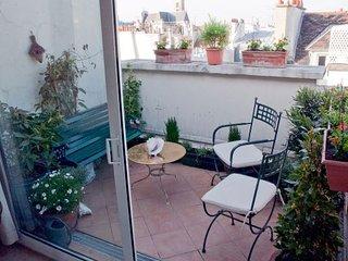 Classic Roof Terrace Ile Saint Louis ( 4 arr ), Paris
