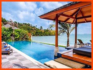 Villa 54 - Bophut beach front with Thai chef service