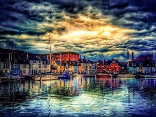 Weymouth Harbour View