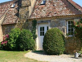 Cottage de charme avec piscine en campagne