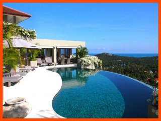 Villa 79 - Fantastic sea views with continental breakfast included, Choeng Mon