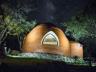 Eco domo en el lago de Chapla