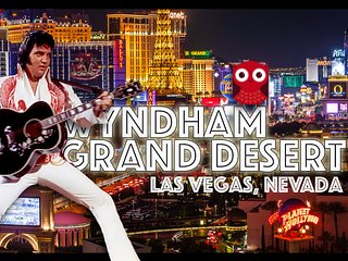 Wyndham Grand Desert Resort ツ 1BR Condo Sleeps 4!, Las Vegas