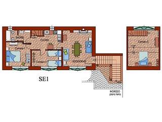 Appartamento con mansarda SE1