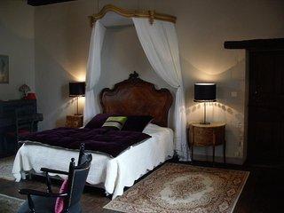 Chambre de charme dans demeure du 17 ème siècle