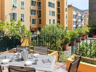 Exquisite 3 bdrs 110 sqm - A/C - Terrace - Port, Niza