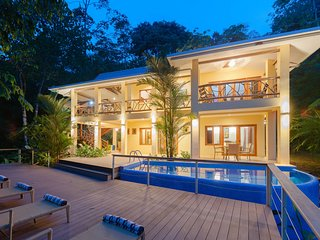 Partial Ocean View Villa Surrounded by Rain Forest