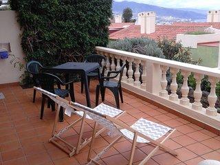 Apartamento con vistas al mar y al Teide, Santa Úrsula
