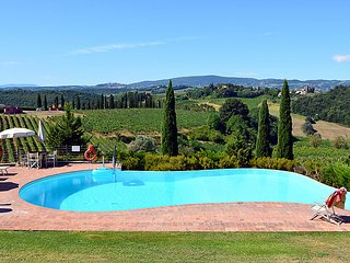 3 bedroom Villa in Certaldo, Tuscany, Italy : ref 5055325