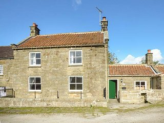 1 BROW COTTAGES, stone cottage, countryside views, woodburning stove, open fire, WiFi, Goathland, Ref 28133