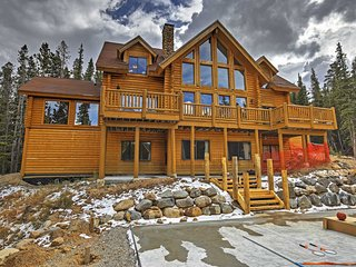 6BR Alma Cabin w/Spectacular Mtn. Views!