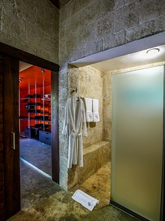 Another view of master room and bathroom