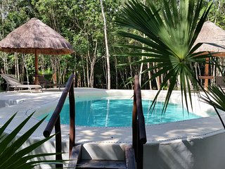 Pura Vida Cancun - Chambre d'hotes dans la jungle