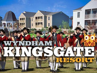 Wyndham Kingsgate Resort ツ 2BR/2BA Equipped Condo!, Williamsburg