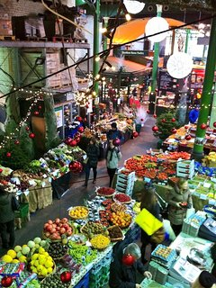 Borough Market at Christmas