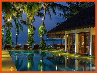Villa 29 - Beach front luxury (3 BR option) with Thai chef service