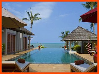 VILLA 184 -  BEACH FRONT LUXURY, Lipa Noi