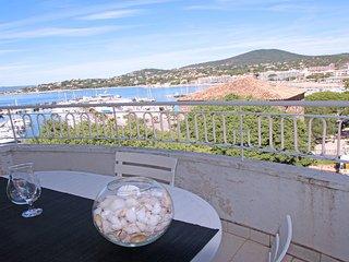 Appt T3 - Centre ville et plage - Vue mer - WiFi - Sainte Maxime