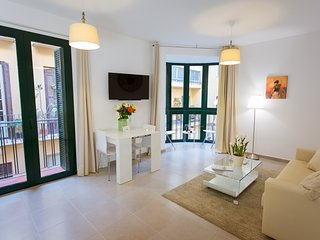 2 bedrooms apartment in historical centre Malaga and close to the beach
