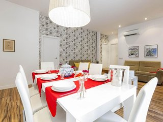 Gran Via 4 apartment in Gran Via with WiFi, airconditioning, balkon & lift.