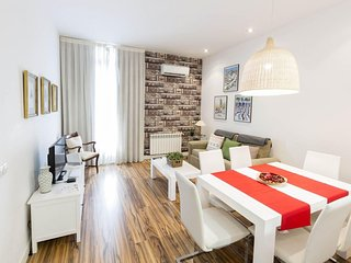 Gran Via 2 apartment in Gran Via with WiFi, airconditioning, privédakterras, Madrid
