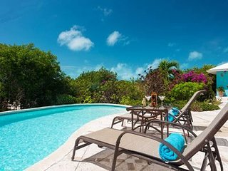 Mimosa Villa is a fully equipped Caribbean style compound ideal for couples, friends and families, Long Bay Beach