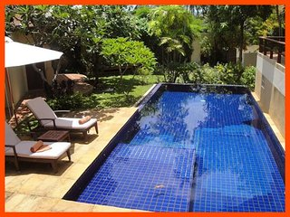 VILLA 162 - WALK TO BEACH (2 BR OPTION), Choeng Mon