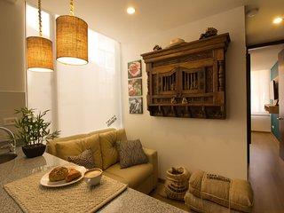 """El Cafetero"" - Handcrafted Colombian Apartment, Bogota"