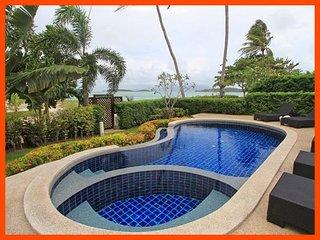 Villa 05  - Beach front (1 BR option) private pool and sunset views, Plai Laem