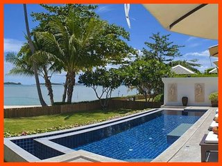 Villa 12 - Beach front private pool and sunset views