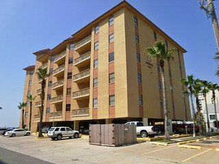Galleon Bay #208 Bayfront W/boatslip,pier & Pool, Ilha de South Padre