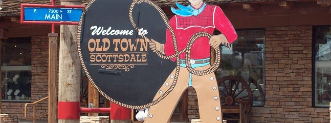 Old Town Scottsdale (10 min drive)