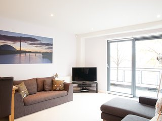 The lounge is very spacious with plenty of natural light coming in from the Patio Doors..