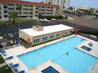 Gulfview I #502 mid island next to Schlitterbahn