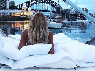 Magical Yacht Stay on Sydney Harbour, Lavender Bay