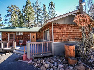 Twin Pines Cabin~Walk To Lake & Town~Full Kitchen~Toasty Fireplace~WiFi~Pets Ok~, Big Bear Region
