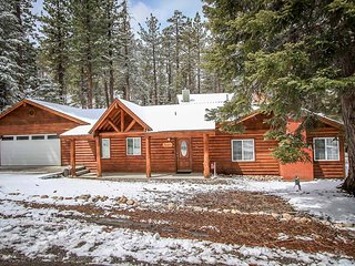 Lazy Bear Lodge~Secluded Single Story Family Retreat~Fully Furnished/Equipped~, Big Bear Region