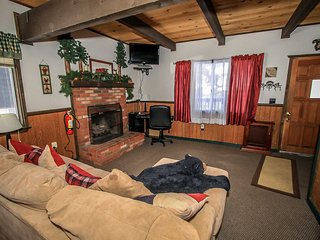 Deer's Den~Comfortable Bear Mountain Cabin~Awesome Ski Slope View~Fireplace~