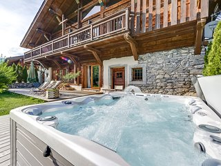 Luxury chalet opposite the slopes, Praz Sur Arly