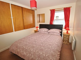king size bed and ample storage facilities