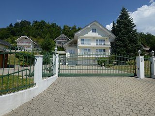 Spacious Villa with Private Garden near Lake Bled, Ljubljana