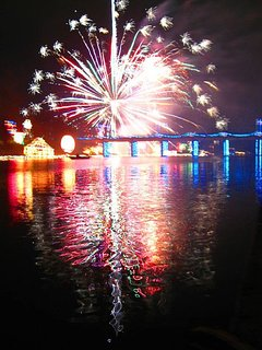 Natchitoches fireworks every weekend in December!!!